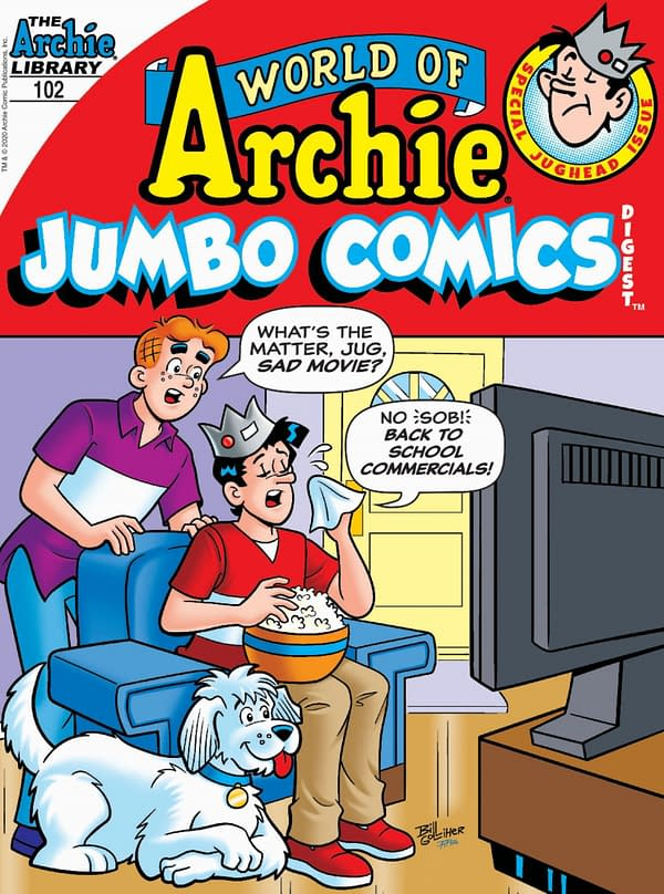 The cover of World of Archie Jumbo Comics Digest #102.