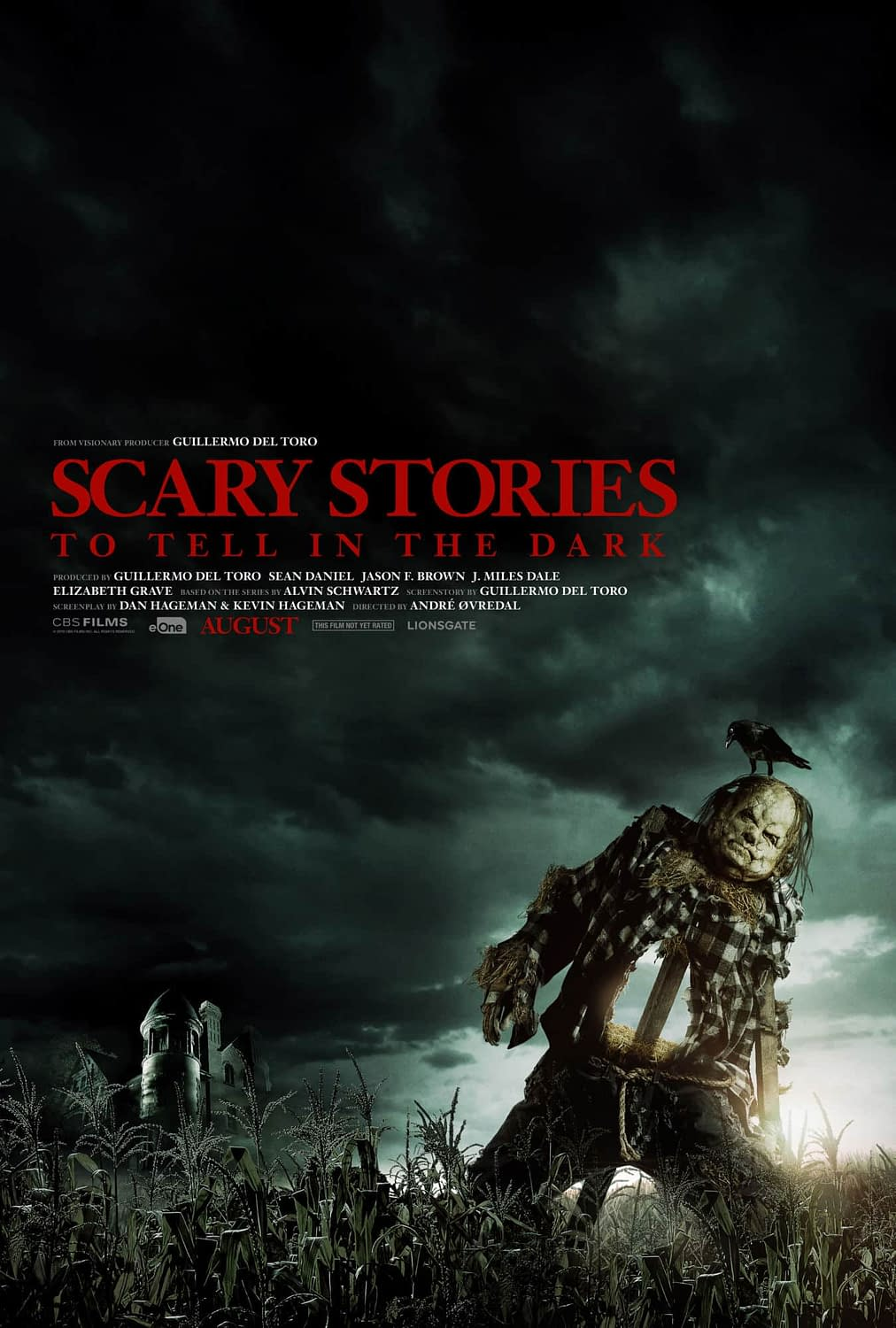 First Teaser Poster for Scary Stories to Tell in the Dark