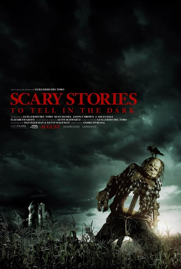 The official poster for Scary Stories to Tell in the Dark. Credit: CBS Films.