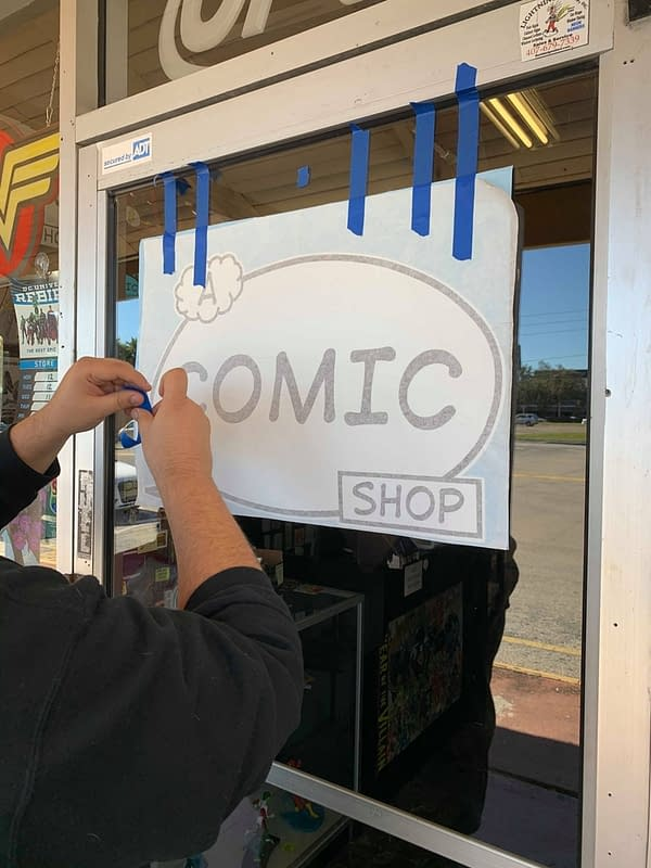 A Comic Shop in Florida, Outs Up 1:1000 Donny Cates Thor Variant