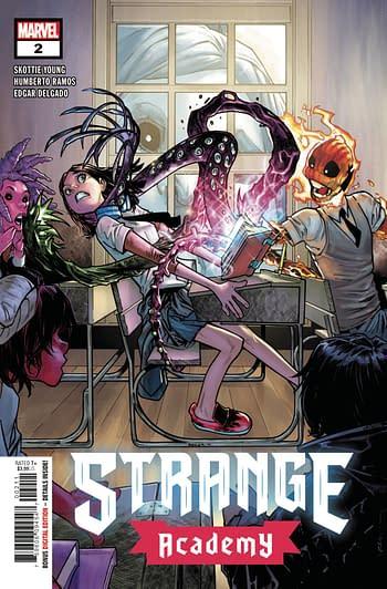Strange Academy #2 Main Cover