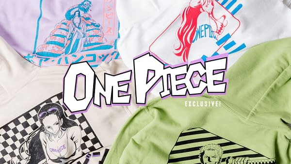 Crunchyroll Launches new 'One Piece' Streetwear Collection