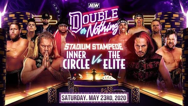 The Elite settle their differences with the Inner Circle at AEW Double or Nothing