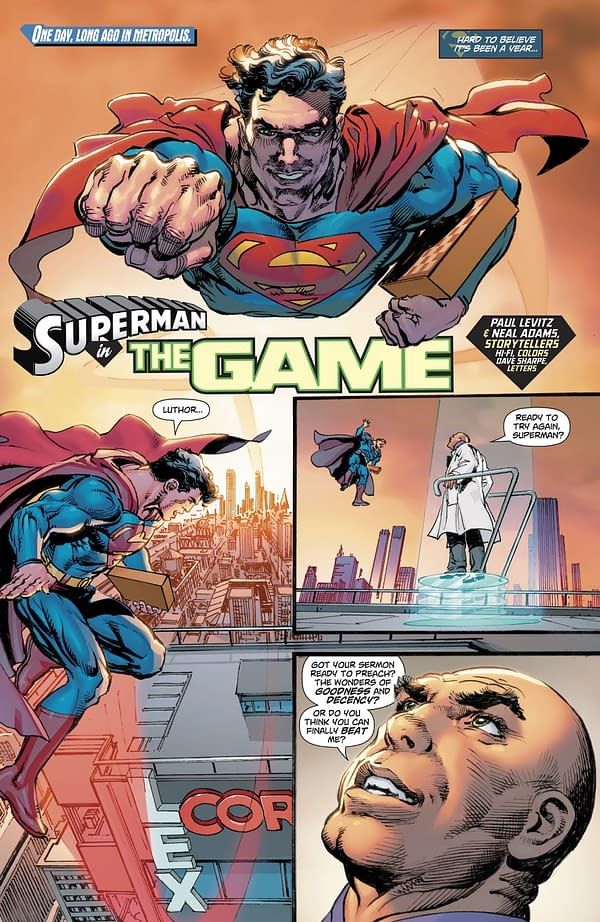 What Happened to Grant Morrison, Frank Quitely, and Doug Mahnke on Action Comics #1000?