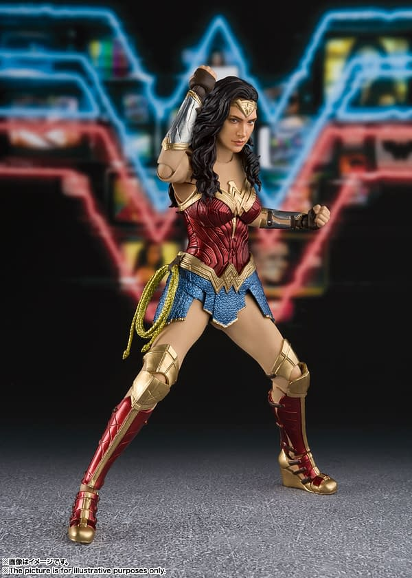 Wonder Woman Gets a New 1984 Figure From S.H. Figuarts