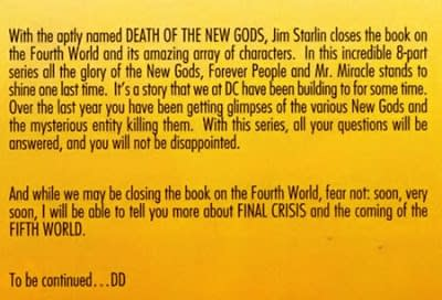 Did DC Comics and Grant Morrison Try to do 5G in 2009 as The Fifth World?