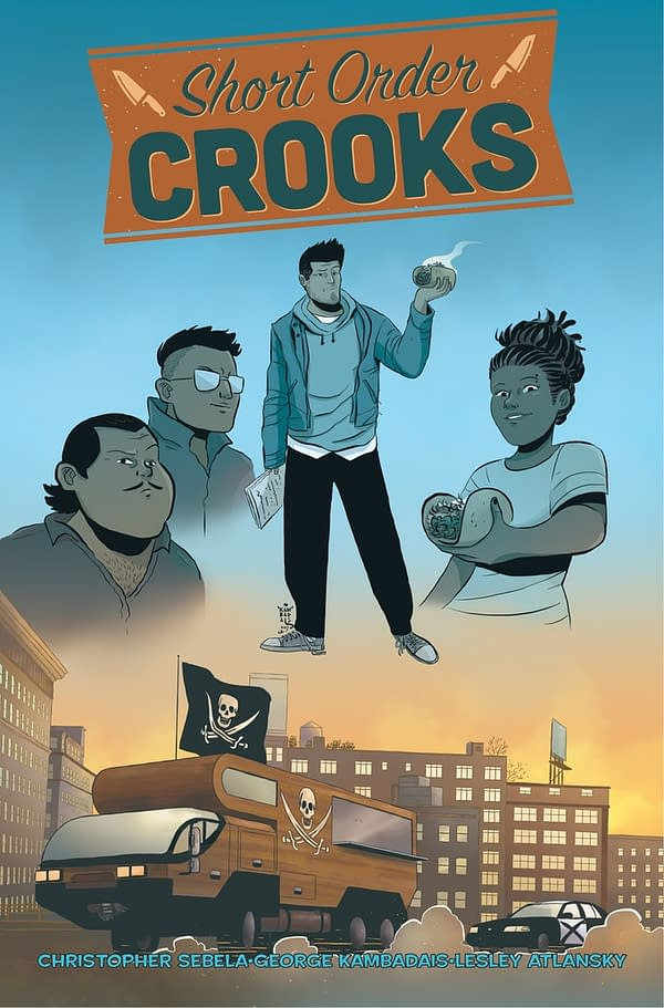 Thought Bubble Debut: Short Order Cooks By Christopher Sebela, George Kambadais And Lesley Atlansky