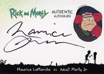 Rick and Morty Season 1 Trading Cards Auto 7