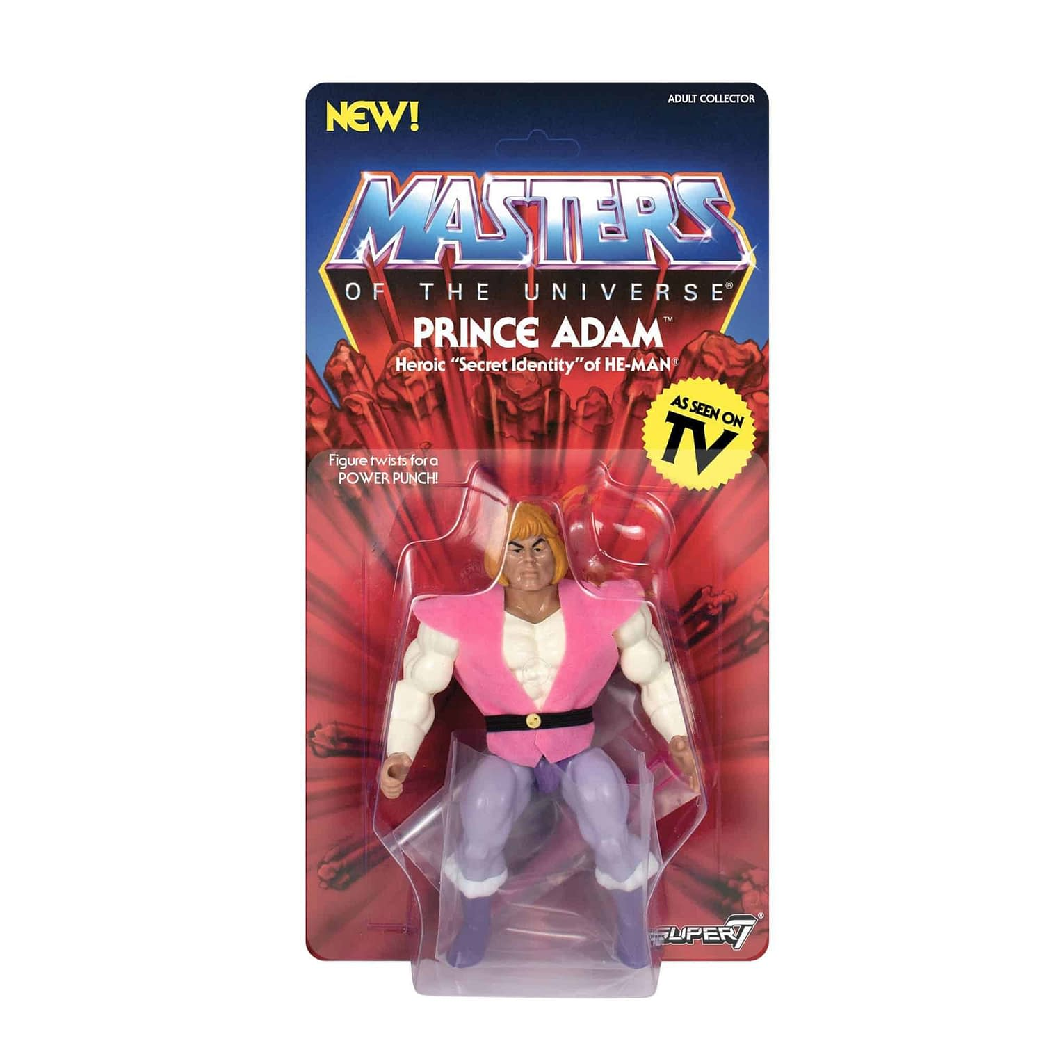 Masters of the Universe Vintage Prince Adam