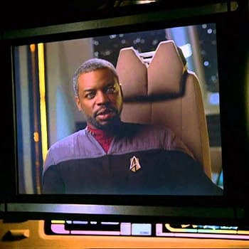 LeVar Burton plays U.S.S Enterprise-D's chief engineer Lt. Commander Geordi La Forge in the Star Trek universe, courtesy of CBS All Access.