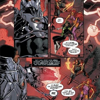 Justice League Odyssey #12 [Preview]