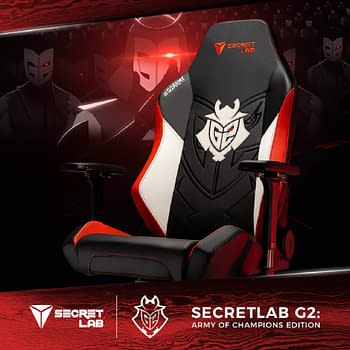G2 &#038 Secretlab Release Army Of Champions Edition Gaming Chair
