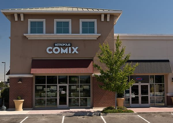 Metropolis Comix of Sacramento, California to Close at the End of the Year