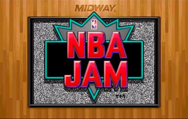 NBA Jam, in all of its glory, had one team that did cheat! Courtesy of Midway Games.