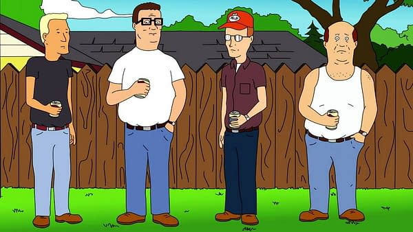 Is King Of The Hill's Everyman Hank Hill The Answer To TV's Trump Problem?