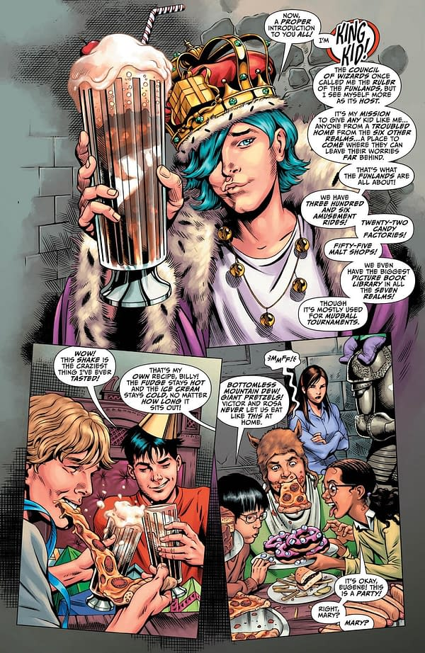 That ***king Kid Wants the Family's Power in Shazam #3 Preview