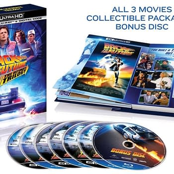 Back To The Future Trilogy Comes To 4K Blu-ray On October 20th