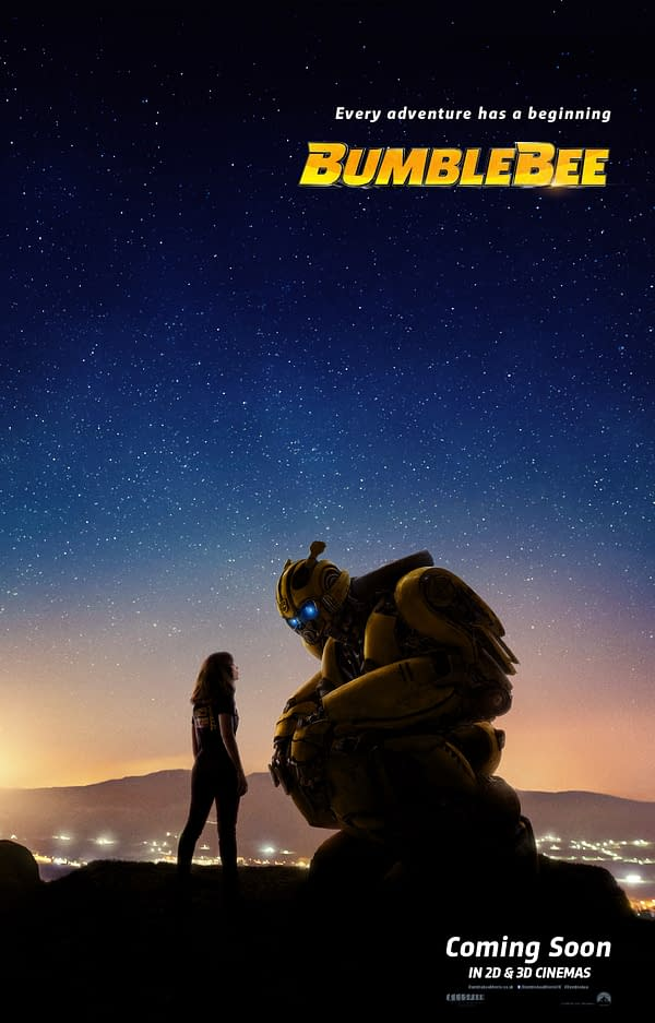 New Bumblebee Movie Poster: Every Transformers Adventure Has a Beginning