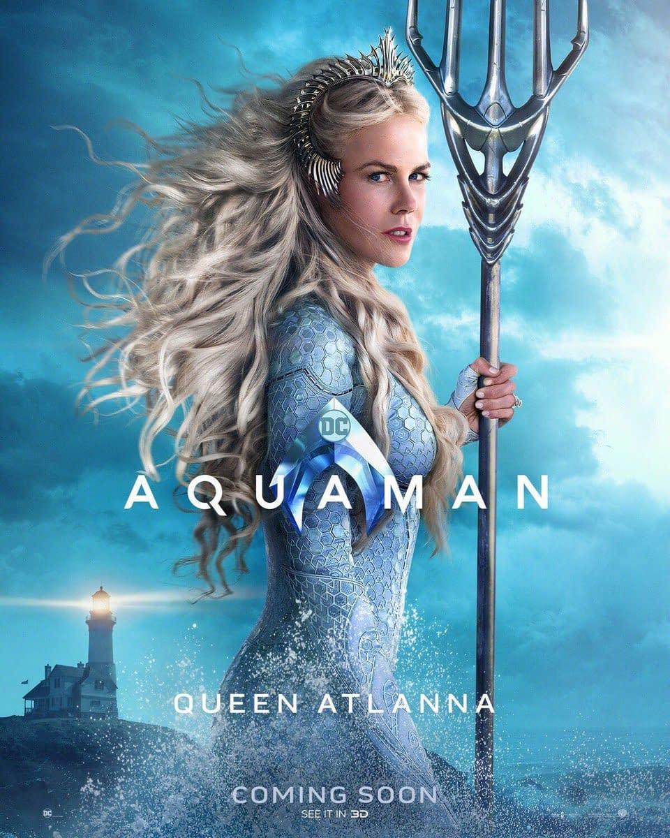 Nicole Kidman Talks Her Aquaman Costume and a Scene Involving a Goldfish