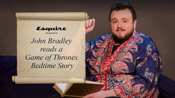 'Game of Thrones' Storytime with John Bradley (Samwell Tarly)