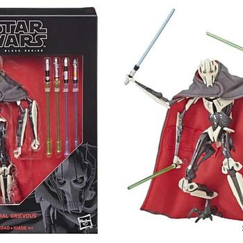 Star Wars Black Series General Grievous Figure Collage