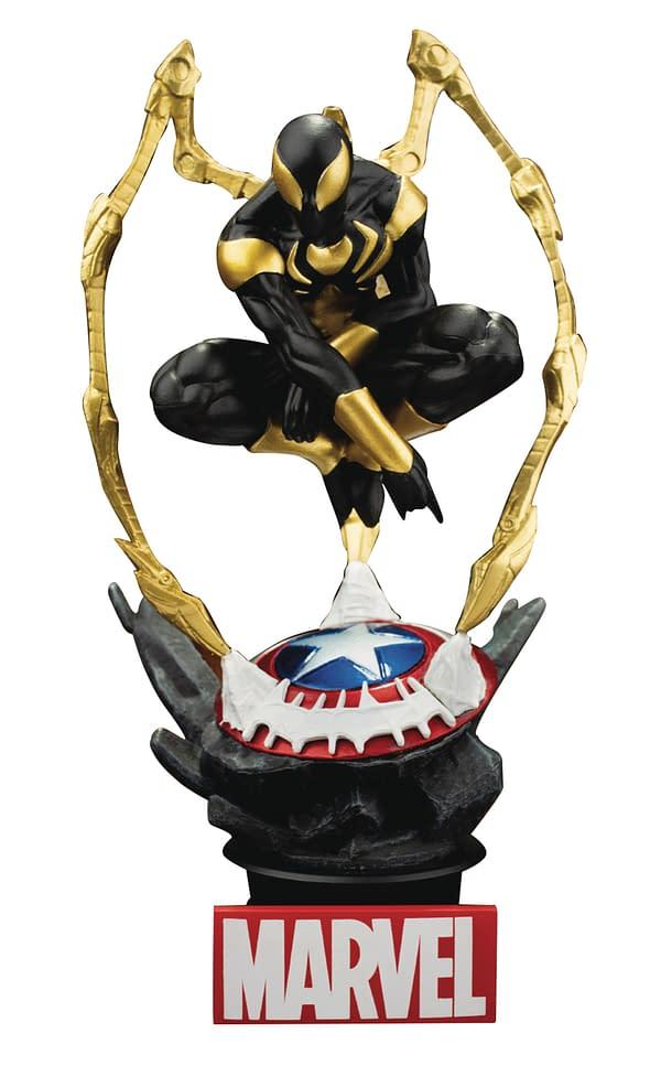 New Beast Kingdom, Hiya Toys Figures Include Thanos, Spidey, Batman