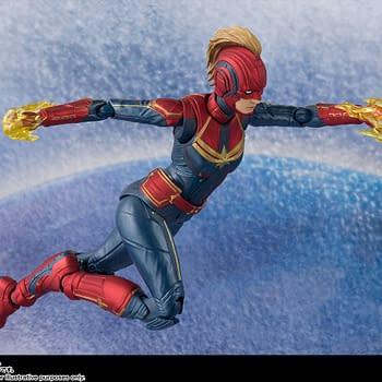 Sh Figuarts Captain Marvel 4