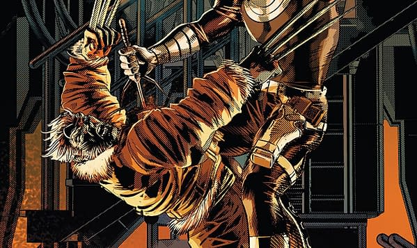 Old Man Logan #37 cover by Mike Deodato Jr. and Carlos Lopez