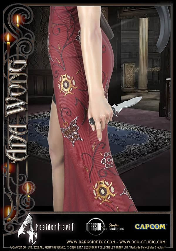 Resident Evil 4 Ada Wong Returns with Darkside Collectibles