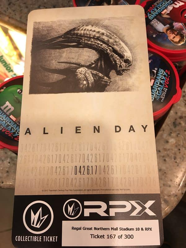 Alien Day Ticket