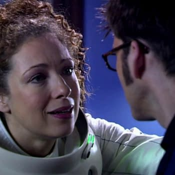River Song tries to explain to the Doctor on Doctor Who, courtesy of BBC Studios.