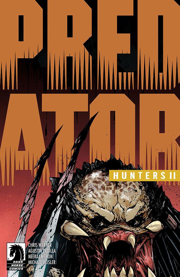 Predator: Hunters II #1 cover by Agustin Padilla