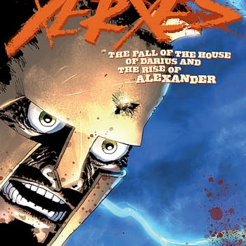 Xerxes #2 cover by Frank Miller