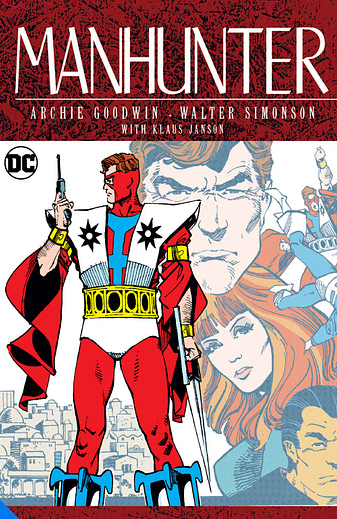 Manhunter, by Archie Goodwin and Walter Simonson, one of many DC Big Books in 2020 and 2021