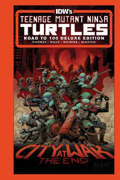 Teenage Mutant Ninja Turtles: The Road to 100published by IDW Publishing.