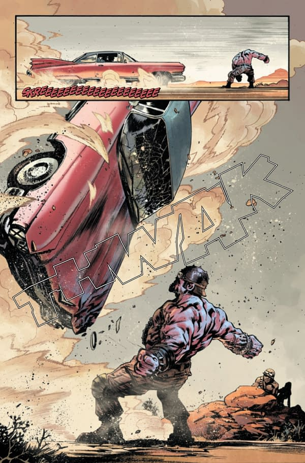 Captain America Reveals His True Nature in Avengers of the Wastelands #2 [Preview[