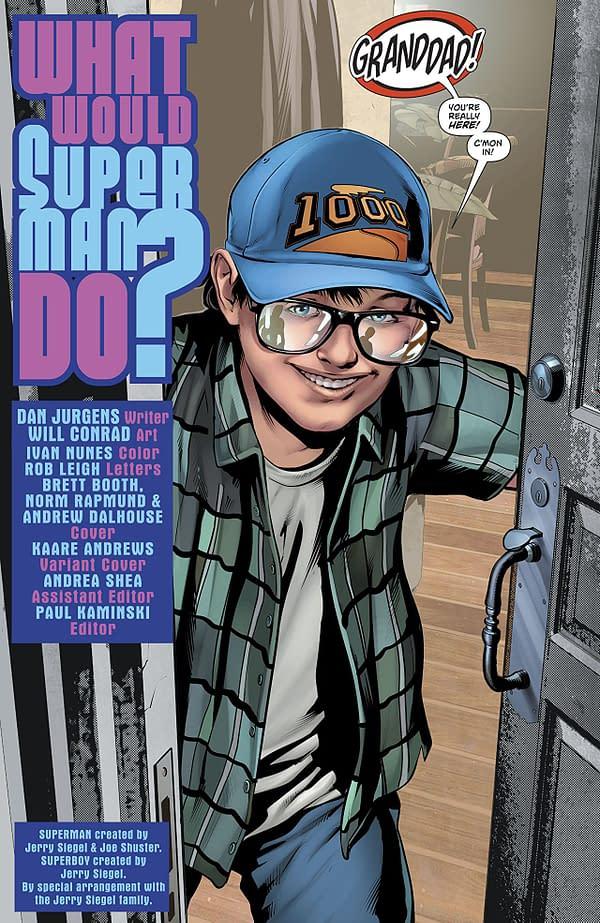 Action Comics #999 art by Will Conrad and Ivan Nunes