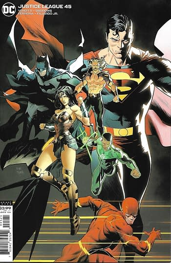 Justice League #45 Variant Cover