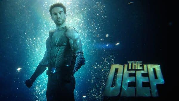 The Deep on The Boys, courtesy of Amazon Studios.