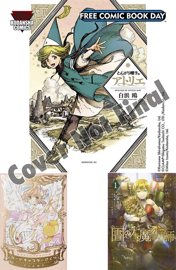 Preview of Witch Hat Atelier by Kamome Shirahama in English – Kodansha All Ages Sampler for Free Comic Book Day 2019