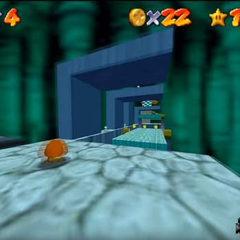 Someone Made A First-Person Super Mario 64 Hack