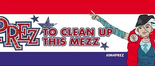 Go On Lets All Use The #IM4PREZ Hashtag For Nefarious Purposes
