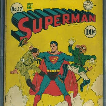 Superman 17, Jul/Aug 1942, DC Comics.