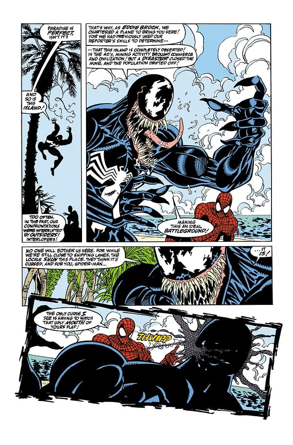 Confimed: The Venom Island of Venom #21 is The Same One From Amazing Spider-Man #347