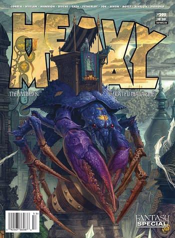 Heavy Metal #299 Cover C