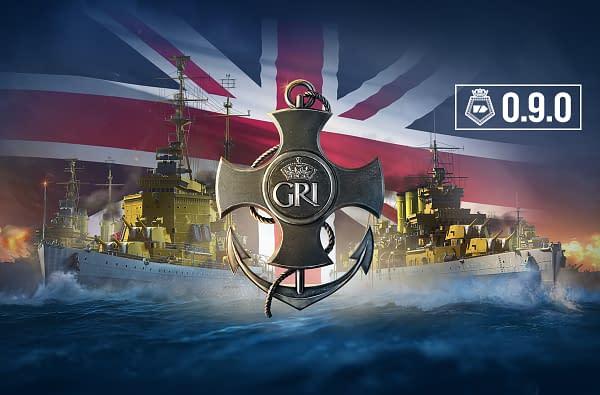 """World Of Warships"" Now Has New British Heavy Cruisers"
