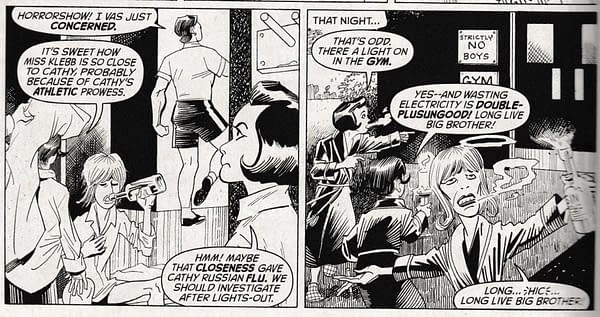 The League Of Extraordinary Gentlemen: The Tempest #3 – It's All About Control
