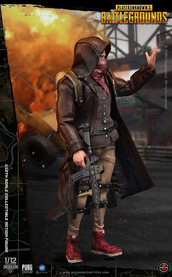PPUBG Figures from Soldier Story Toys