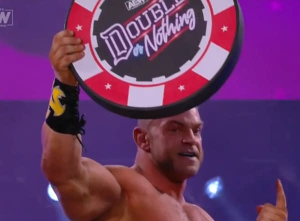 Brian Cage is your winner, courtesy of AEW.