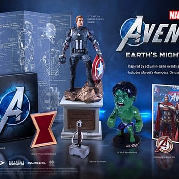 Square Enix Reveals Details For Marvels Avengers Deluxe Edition